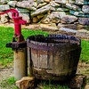 Old vintage water pump