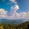 Blue Ridge Parkway Scenic Mountains Overlook