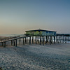 Abandoned North Carolina Fishing Pier Outerbanks OBX Cape Hatteras National Seashore