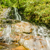 View of Laurel Falls in Great Smoky Mountains National Park