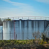 petroleum oil storage tanks