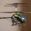 Flying RC helicopter indoors