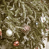 vintage decorated christmas tree