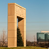 monumental structural landmark statue in ballantyne nc