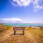 coastal landscape near padre island texas