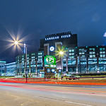 March 2017 Green Bay Wisconsin - Lambeau Field - Green Bay Packers at night