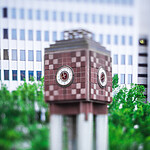 clock tower in downtown charlotte north carolina