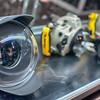 fisheye lens on display
