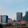 charlotte north carolina skyline panorama