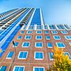 skyscraper buildings in Charlotte North Carolina USA