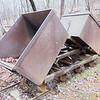 gold ore mining cart