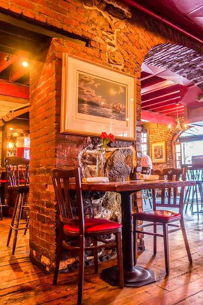 old style restaurant interior