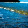 water foam waves ocean sunny day light
