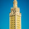 MIAMI, FL - FEB 27: Freedom Tower on street on February 7, 2016 in Miami, Florida.
