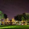 st petersburg florida night scenes from park