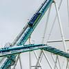 crazy rollercoaster rides at amusement park