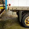industrial unloading dock for trucks