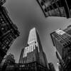 new york city skyline and surroundings