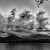 lake santeetlah in great smoky mountains