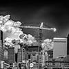 charlotte north carolina city skyline from bbt ballpark