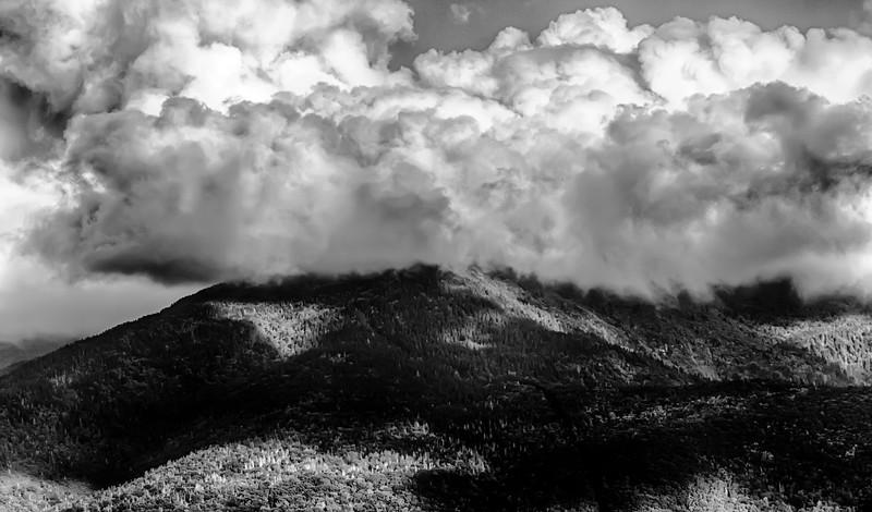 Blue Ridge Parkway Scenic Mountains Overlook Summer Landscape