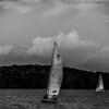 sail boat on large lake