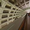 Smithsonian metro station in Washington DC