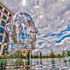 Metalmorphosis Mirror Fountain by, David Černý