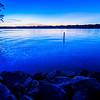 sunset at lake wylie