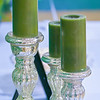green candles
